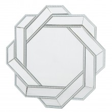 Pearl Interlinked Mirror, Silver