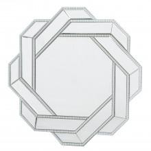 Casa Pearl Interlinked Mirror, Silver