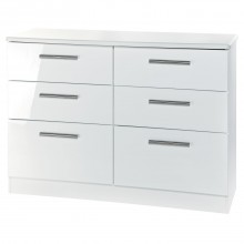 Keaton Six Drawer Midi Chest