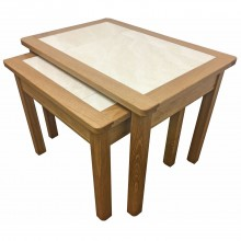 Anbercraft Beaumont Nest Of Two Tables
