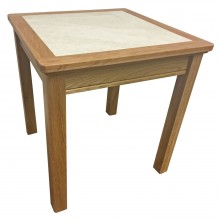 Anbercraft Beaumont Lamp Table Oak Lamptable