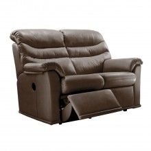 G Plan Malvern 17 Two Seater Double Manual Recliner Leather Sofa