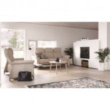 Stressless Breeze Three Seater Sofa With One Leg Comfort