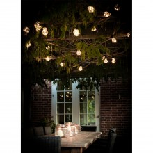 Garden Trading Festoon Lights, 20 Bulbs