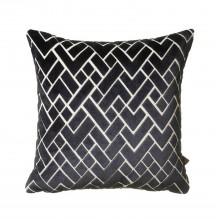 Scatterbox Fracture Cushion, Navy
