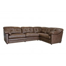 Alexander & James Bailey Corner Leather Sofa
