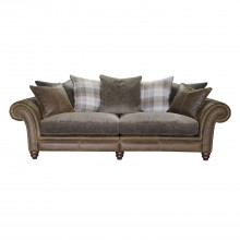 Alexander & James Hudson Four Seater Fabric Sofa