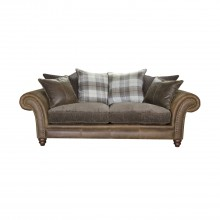 Alexander & James Hudson Three Seater Fabric Sofa