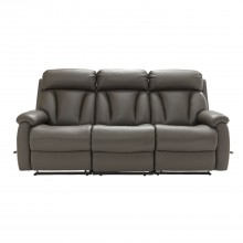 La-Z-Boy Georgina Three Seater Manual Recliner Leather Sofa