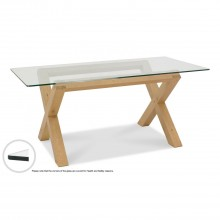 Toledo Glass Top Dining Table