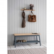 Garden Trading Clockhouse Hallway Bench, Charcoal