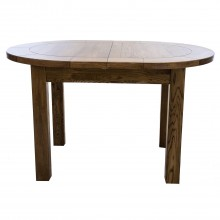 Bordeaux Small D-End Extending Dining Table