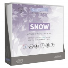 Protect-a-bed Snow Single Mattress Protector