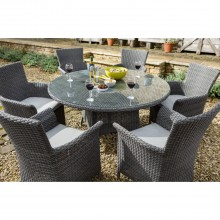 Six Seater Outdoor Dining Set