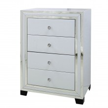 Casa Blanco 4 Drawer Tall Chest