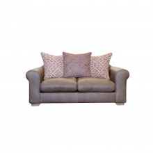 Alexander & James Pemberley Small Leather Sofa