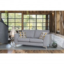 Alstons Stockholm Three Seater Fabric Sofa