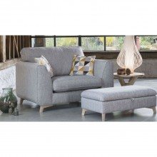 Alstons Stockholm Snuggler Fabric Chair
