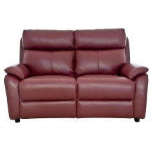 Shiraz Two Seater Leather Sofa