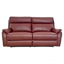 Shiraz Two.Five Seater Power Recliner Leather Sofa