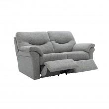 G Plan Washington Two Seater Manual Fabric Sofa