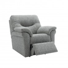 G Plan Washington Manual Recliner Fabric Chair