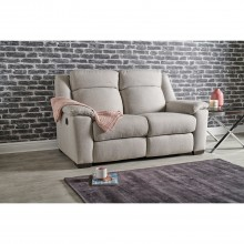 Dallas Two Seater Manual Recliner Fabric Sofa
