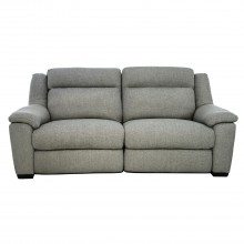 Dallas Two.Five Seater Power Recliner Fabric Sofa
