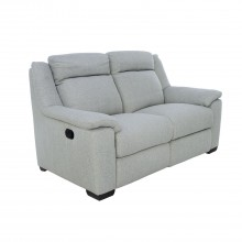 Dallas Two Seater Power Recliner Fabric Sofa