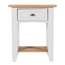 St Ives One Drawer Bedside Table