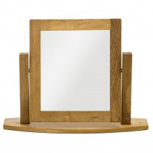 Seville Dressing Table Mirror, Oak
