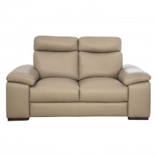 Polo Divani Merry Due Two Seater Leather Sofa