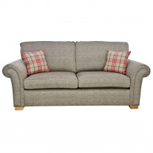 Alstons Lancaster Three Seater Fabric Sofa