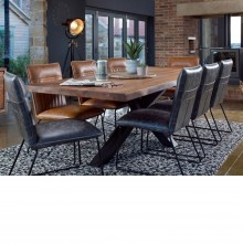 Brixton Table and Six Dining Chairs Dining Set