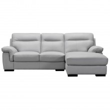 Louis Corner Leather Sofa