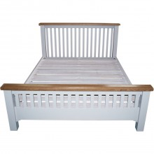 Eden High Foot End Double Bedframe