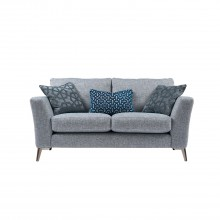 Casa Flora 2 Seater Sofa Chrome Foot 2 Seat