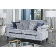 Alstons Fleming Three Seater Fabric Sofa