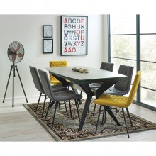 Amsterdam Extending Dining Table & Six Chairs