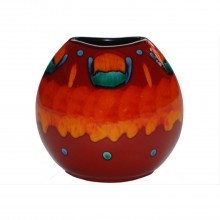 Poole Pottery Purse Vase
