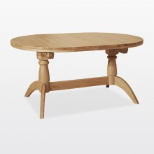 Marseille Oval Double Extending Table