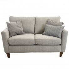 Madison Two Seater Fabric Sofa, Rhone Silver/cleveland