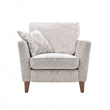 Casa Madison Power Recliner Fabric Chair, Unique Ivory