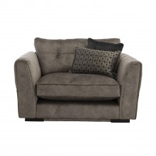 Giselle Fabric Snuggler Chair