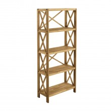 Darwin X-unit with 5 Shelves