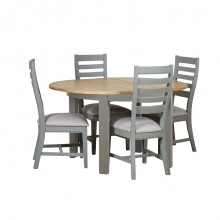 Wexford Round Extending Table & Four Chairs