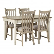 Lille Extending Table & 4 Chairs Dining Set