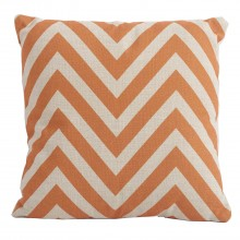 Bramblecrest Outdoor Cushion, Chevron Orange