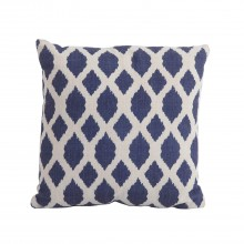 Bramblecrest Outdoor Cushion, Blue Trellis