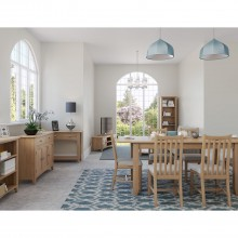 Kington Fixed Table & Four Chairs Dining Set